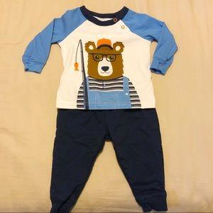 Carter's 2-Piece Bear Set 9 Months